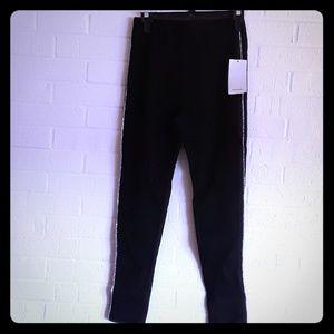 Zara black leggings size small NWT